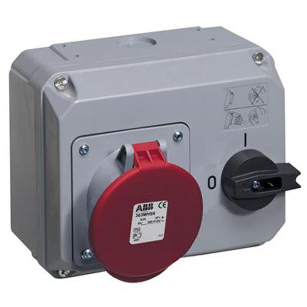 ABB 2CMA167721R1000 Vegguttak IP44, 63 A, 400 V 3P+J