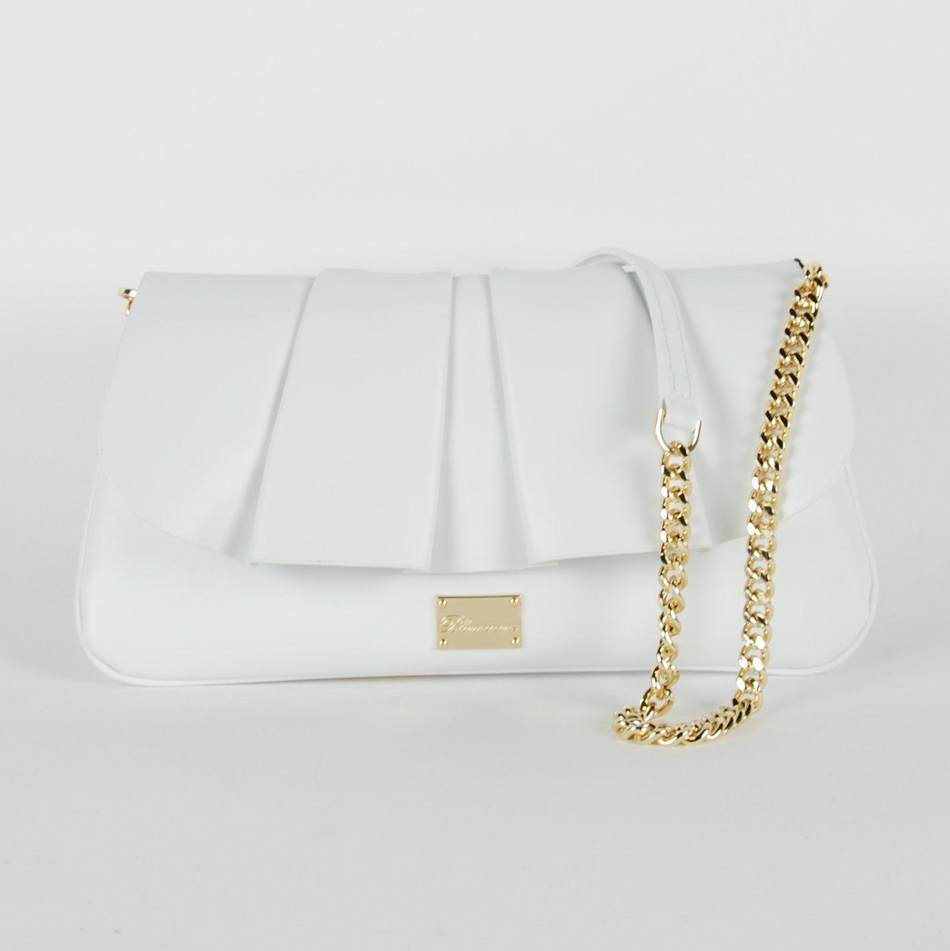 Blumarine Women's Shoulder Bag White BL1421452