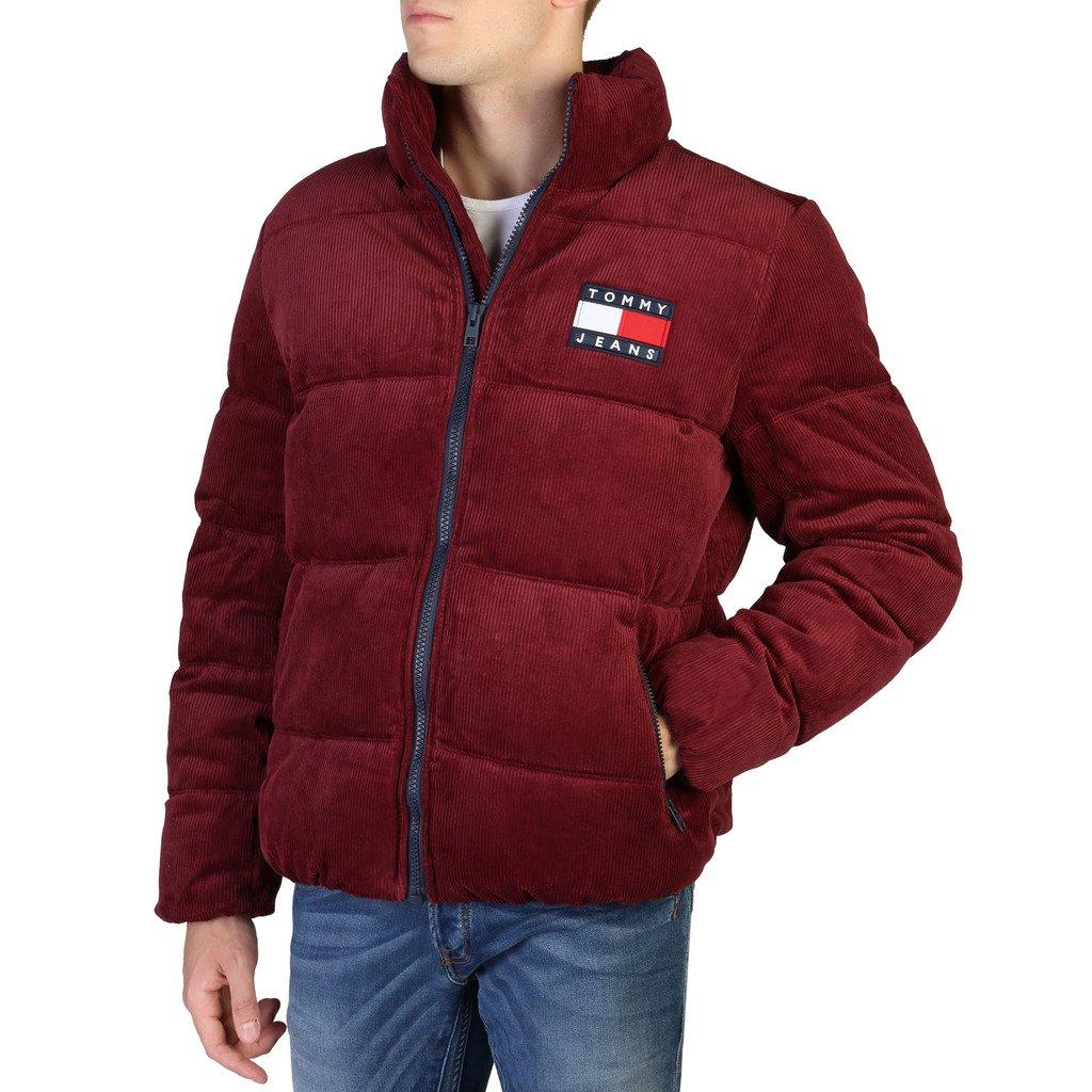 Tommy Hilfiger Men's Jacket Red DM0DM07606 - red S