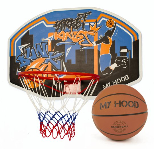 My Hood Basketkurv på Backboard & Ball