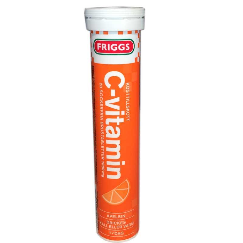 C-vitamin Apelsin - 32% rabatt