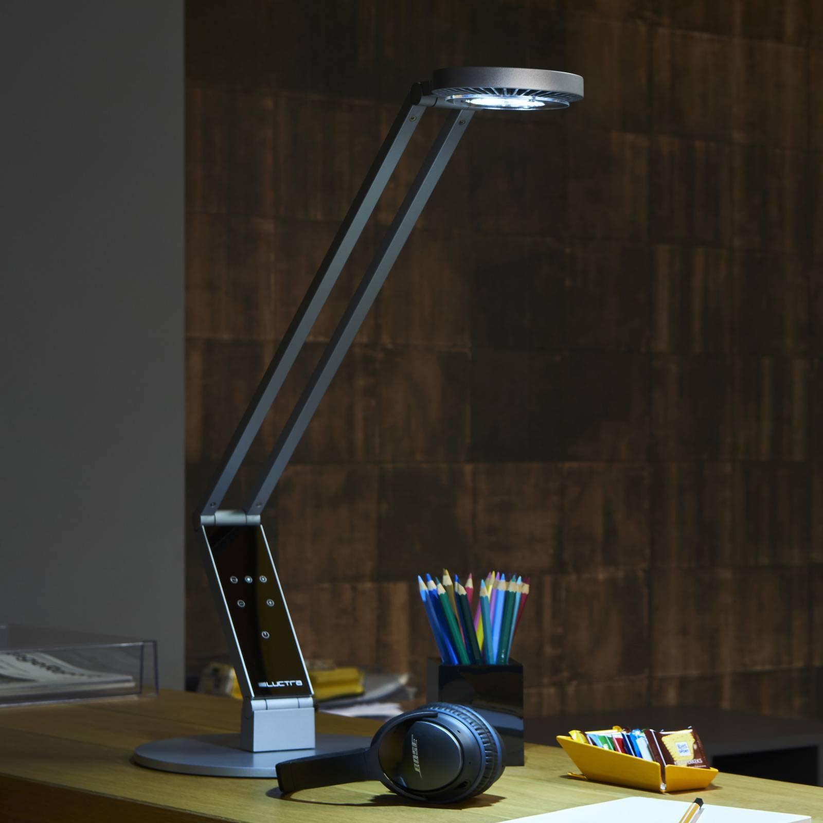 Luctra Tabel Radial LED-bordlampe fot alu