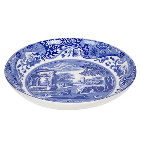 Blue Italian Pastaskål 23 cm