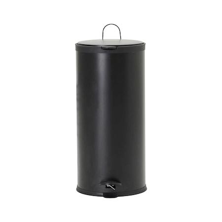 Papperskorg Eda Svart 30 liter