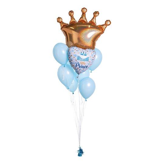 Ballongbukett Welcome Little Prince