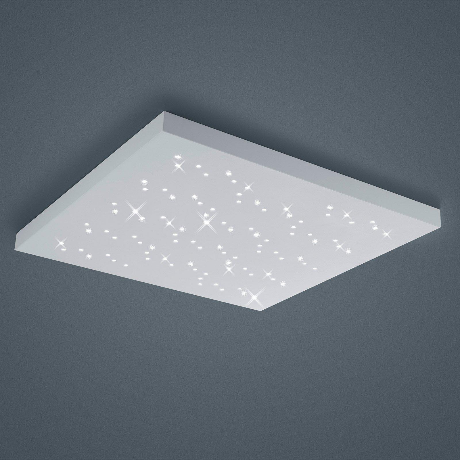 LED-taklampe Titus hvit 75 x 75 cm