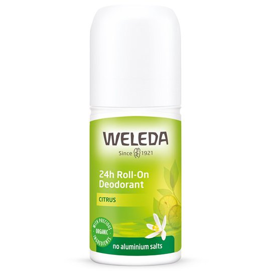 Weleda Citrus 24h Roll-On Deodorant, 50 ml