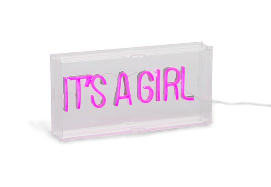 Childhome Neon Light Box It's A Girl