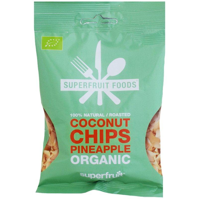 Luomu Kookossipsit Ananas - 37% alennus