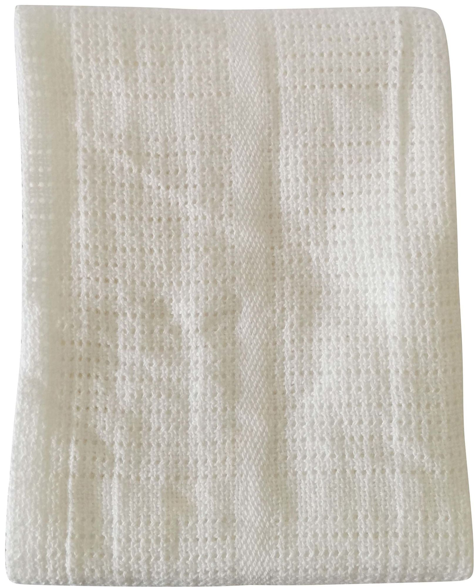 BabyDan Cotton Blanket Viltti, White
