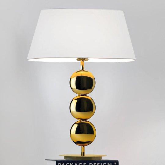 Villeroy & Boch Sofia bordlampe m. gullfot