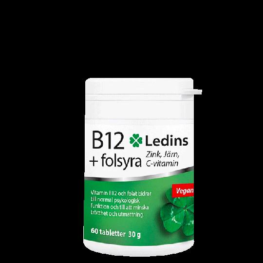 B12+Folsyra, 60 st