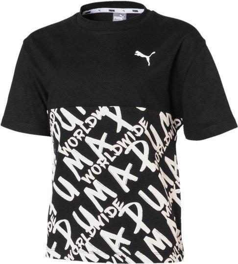 Puma Alpha Aop T-Shirt, Black 104