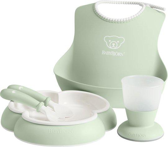 BabyBjörn Middagssett til Barn, Grønn