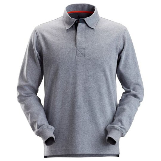 Snickers 2612 Rugby-paita Harmaansininen, meleerattu XS