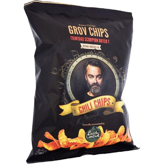 """Chips Chili """"Trinidad Scorpion Butch"""" 150g - 50% rabatt"""