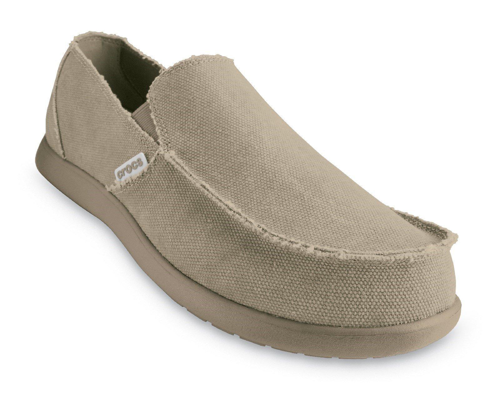 Crocs Men's Santa Cruz Loafer Khaki 30611 - Khaki 6