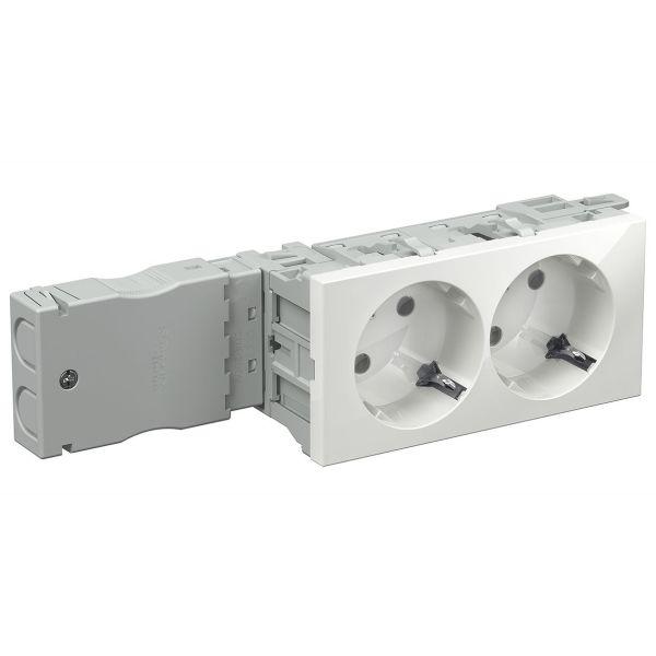 Schneider Electric INS62100 Uttak 2-veis, stikklemme