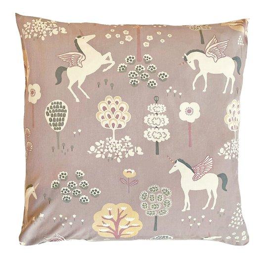 Majvillan Putetrekk 50x50 True Unicorns, Lilac