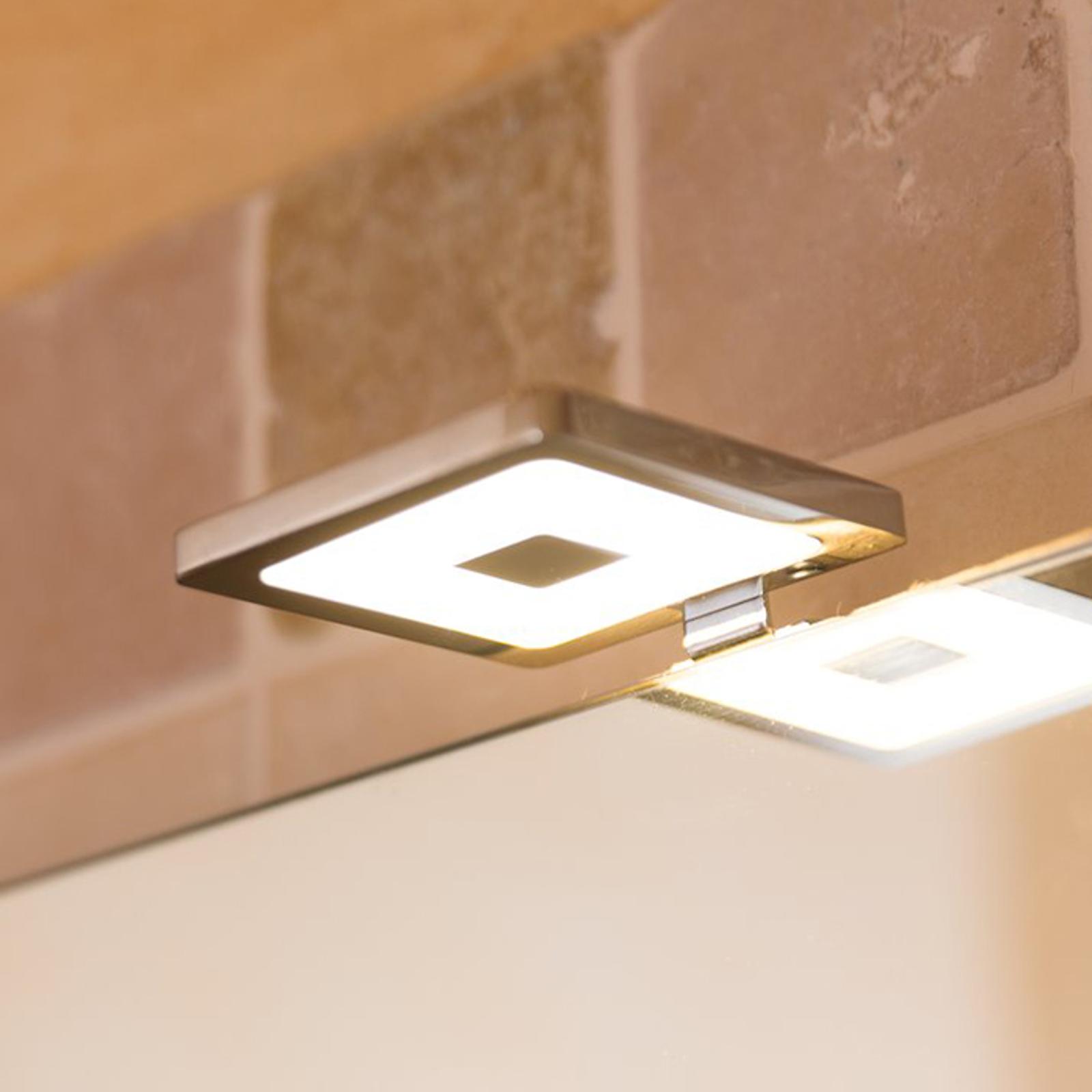 Piazza - kulmikas LED-peilivalaisin