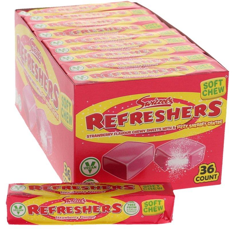 Refreshers Jordgubb 36-pack - 69% rabatt