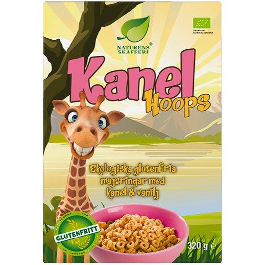 Eko Frukostflingor Kanel Hoops - 28% rabatt