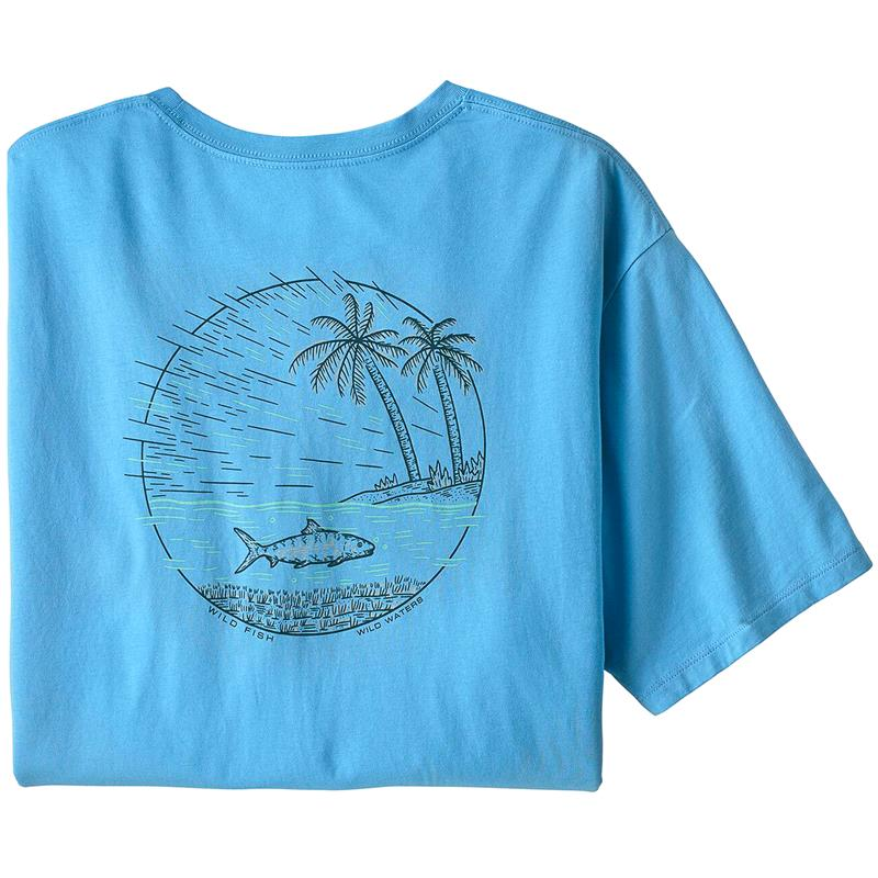 Patagonia M's Wild Home Waters L Lago Blue w/Flats