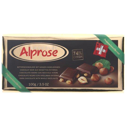 Mörk Choklad 74% Hasselnötter - 50% rabatt