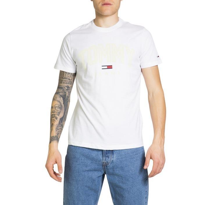 Tommy Hilfiger Jeans Men's T-Shirt White 218841 - white XXL