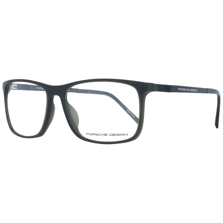 Porsche Design Men's Optical Frames Eyewear Green P8323 57D