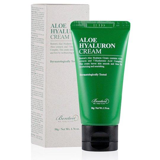 Aloe Hyaluron Cream, 50 g Benton Kasvovoiteet
