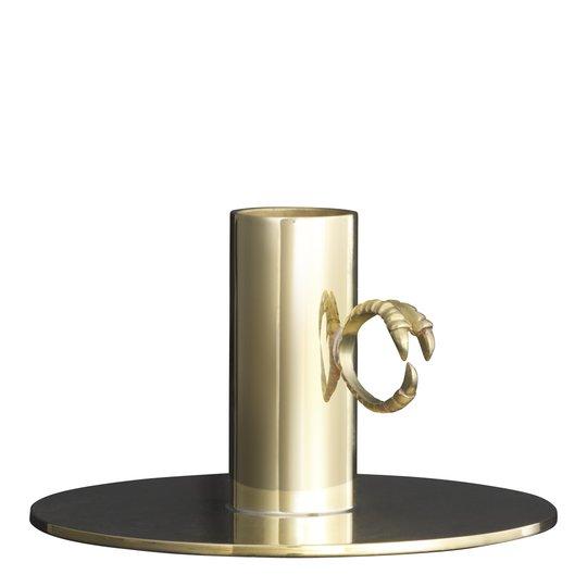 Skultuna - Claw Ljusstake ring 10,5 cm Mässing