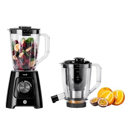 Blendforce Blender + Juicemaskin Med Juicekanna