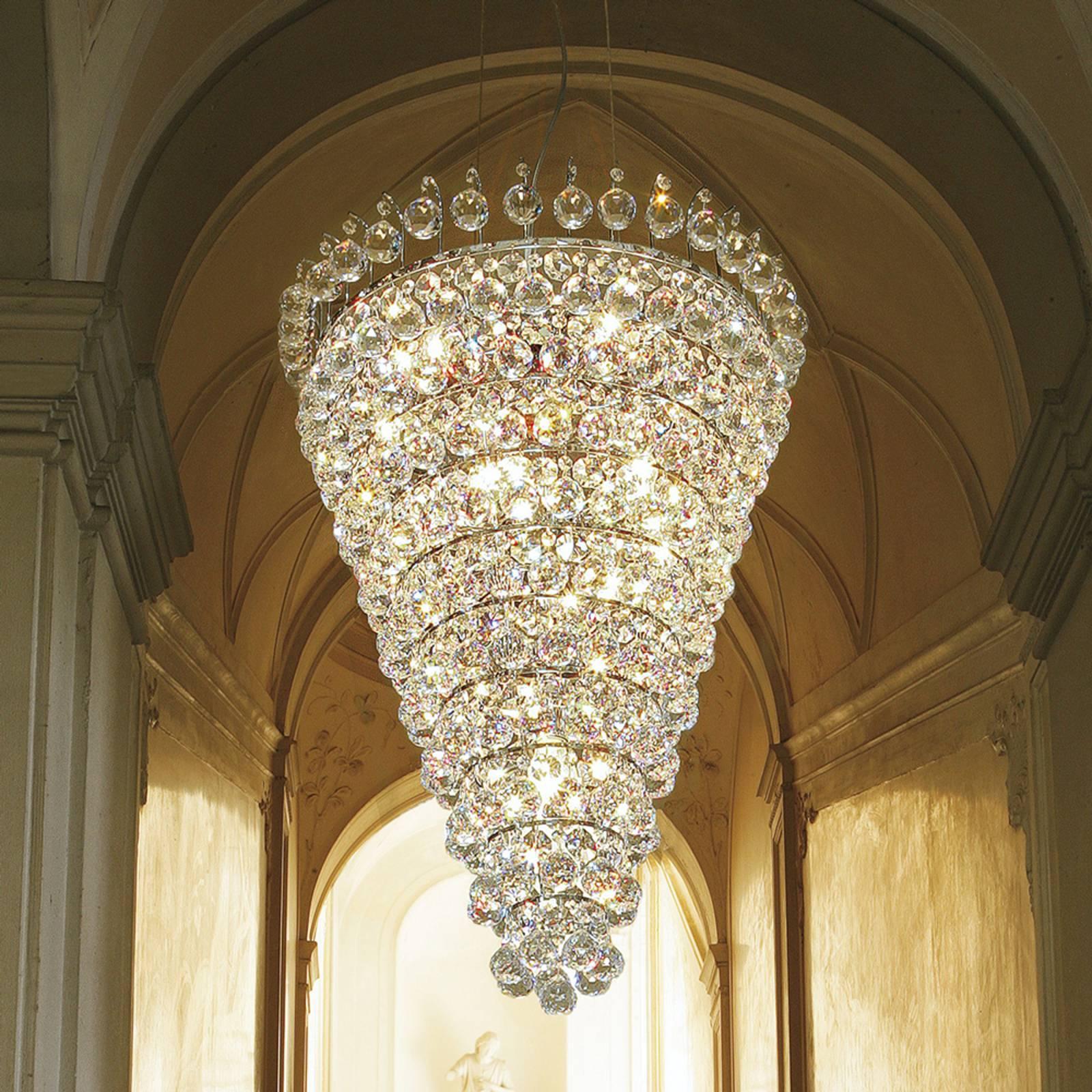 Ascana – komea riippuvalaisin, Asfour-kristalli