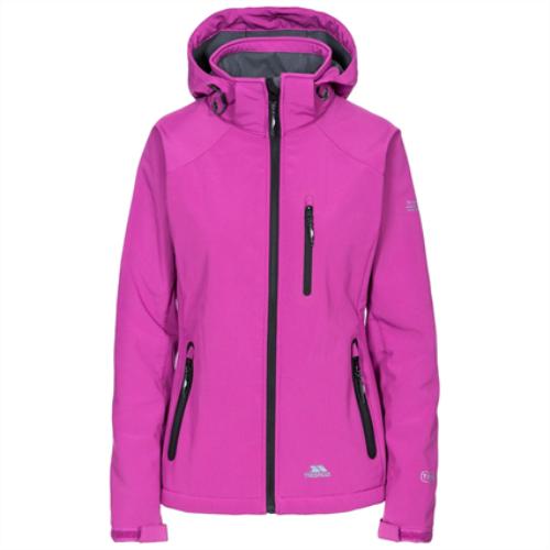 Trespass Women's Softshell Jacket Various Colours Bela II - Purple Orchid S