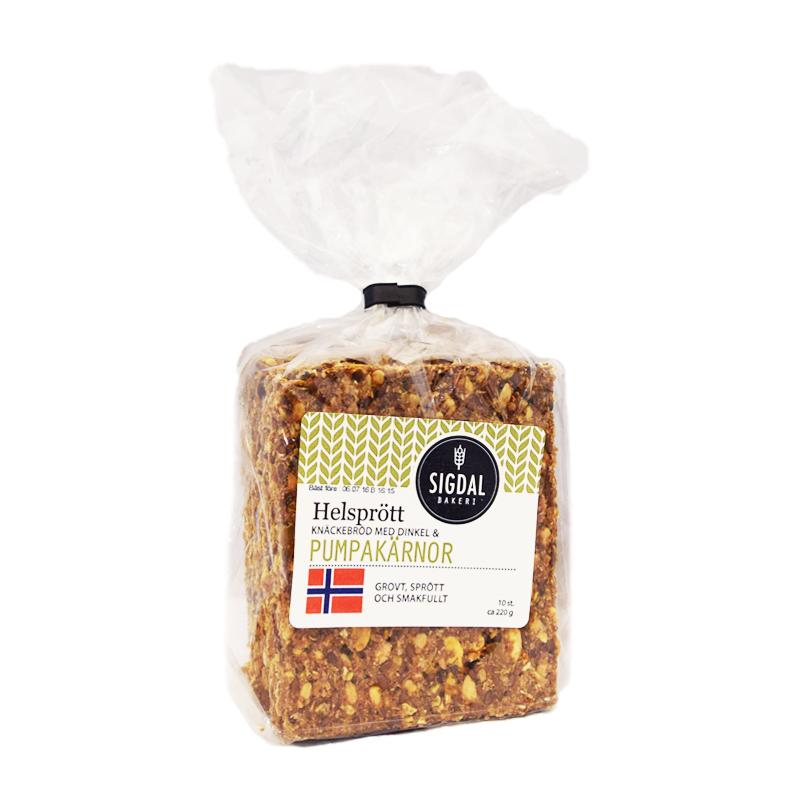 Knäckebröd Pumpakärnor - 46% rabatt
