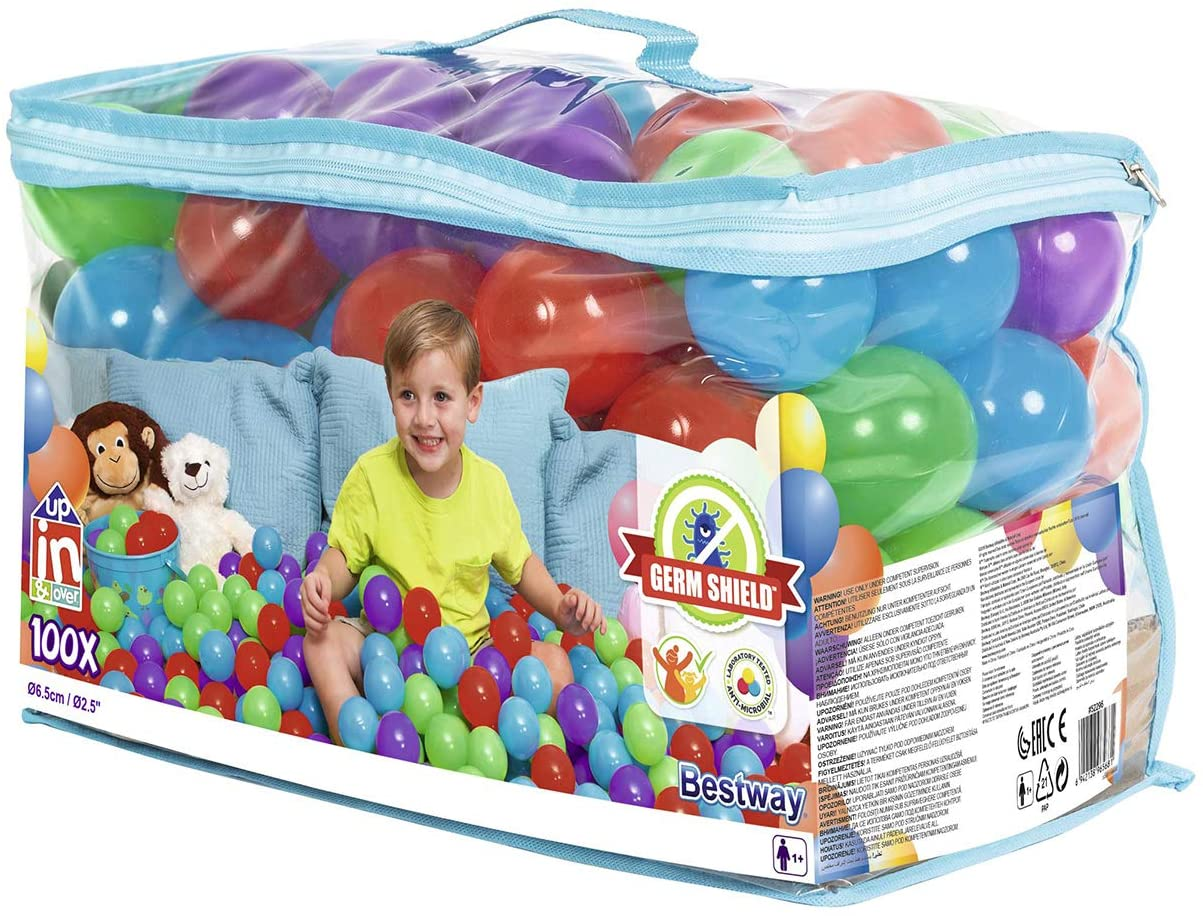 Bestway - Up, In & Over - Antimicrobial Play Balls w/GermShield - Ф6.5cm (522969)