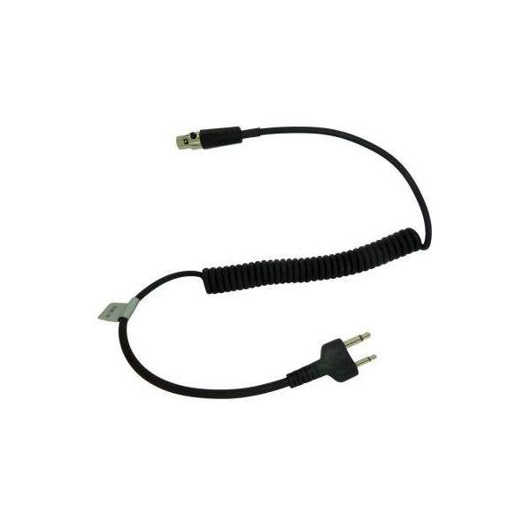3M Peltor FL6U-31 FLEX-kabel til ICOM F3 og F4