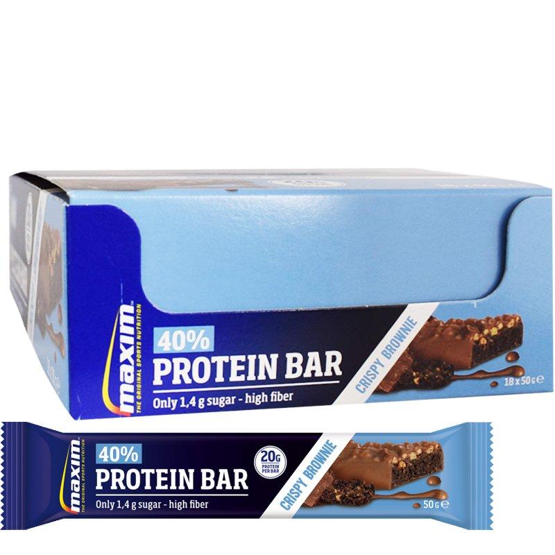 Proteiinipatukoita Crispy Brownie 18kpl - 31% alennus