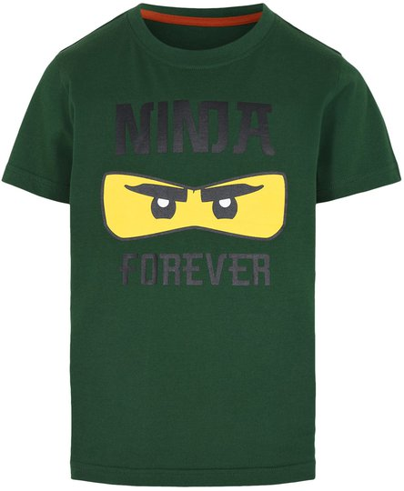 LEGO Collection T-shirt, Dark Green, 104