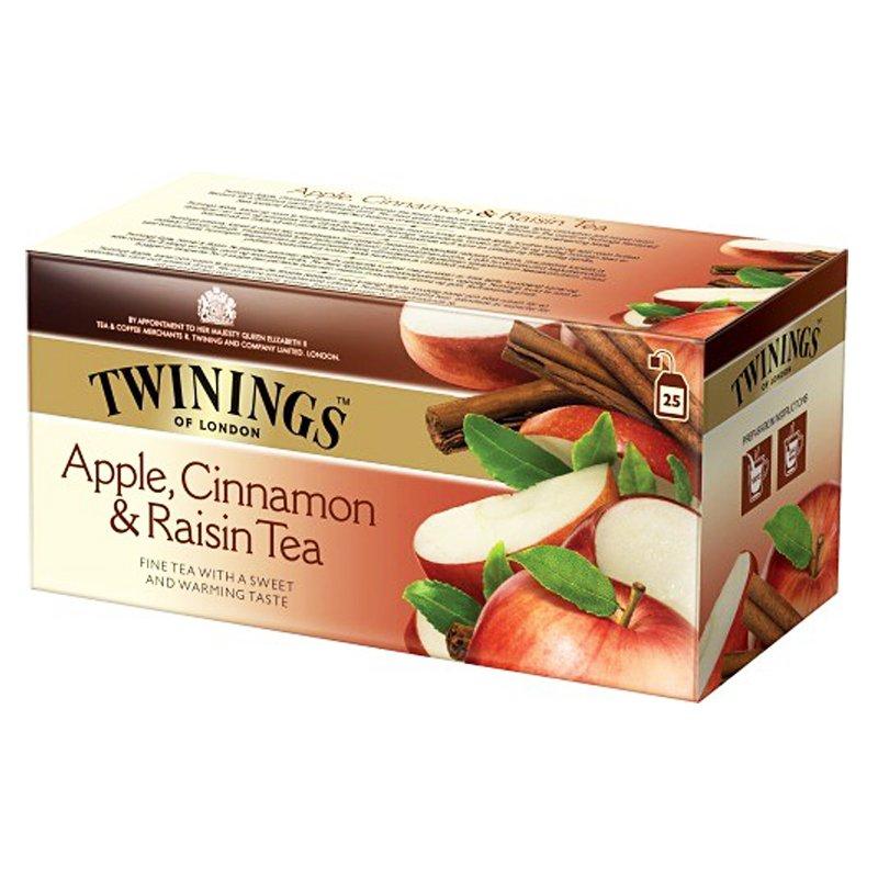 Musta tee omena, kaneli ja rusina 25-pack - 95% alennus