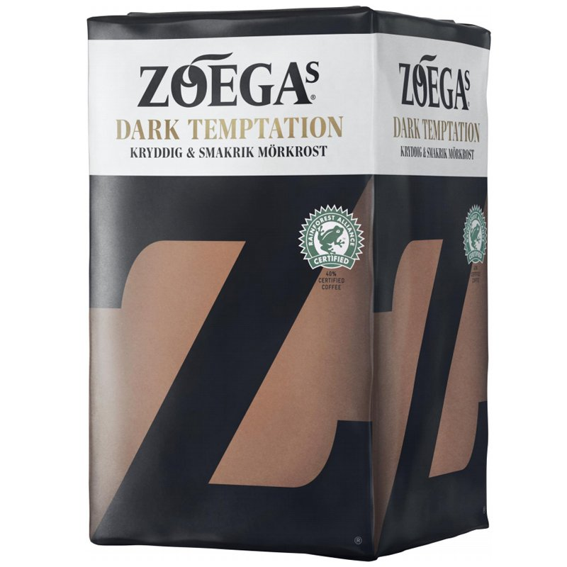 """Kaffe """"Dark Temptation"""" 450g - 17% rabatt"""