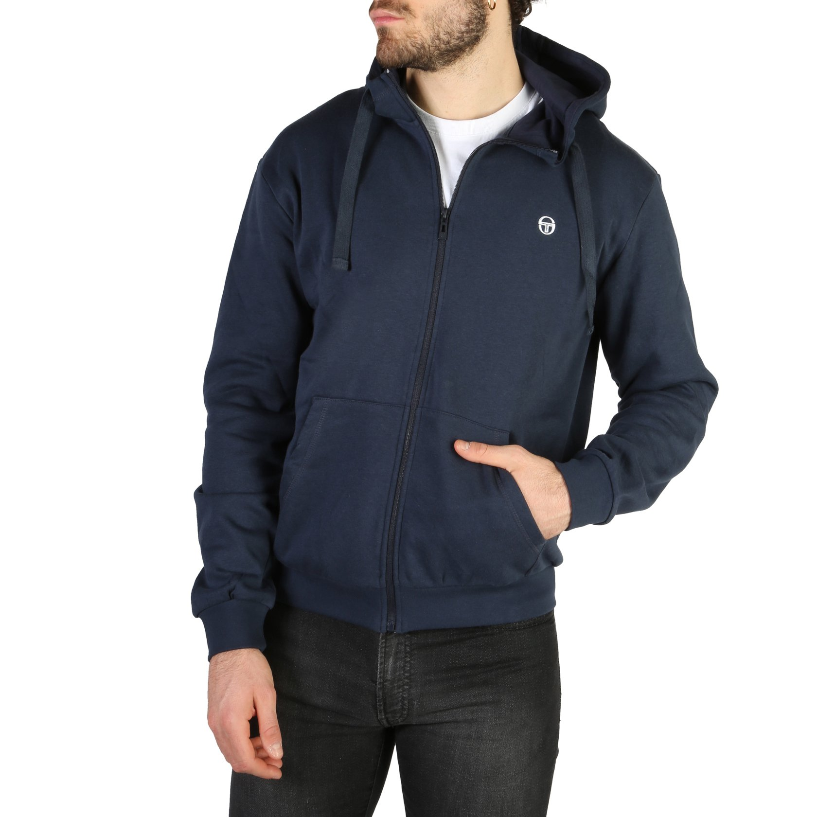Sergio Tacchini Men's Sweatshirt Various Colours 103-10001 - blue M