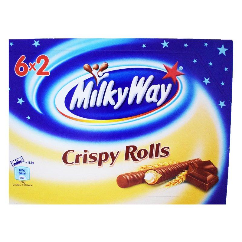 """Godis """"Crispy Rolls"""" 150g - 33% rabatt"""
