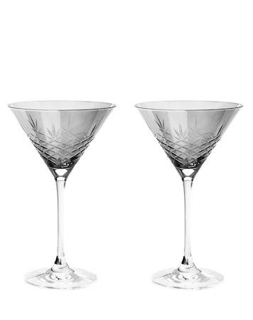 Dark Cocktailglass 22 cl 2-pakning