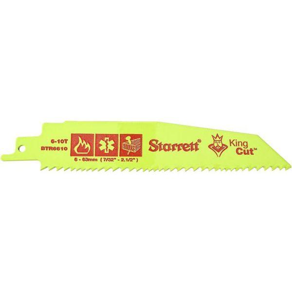 Starrett King Cut Sagblad ekstra kraftig, 5-pakning 152 x 25 x 1,60 mm