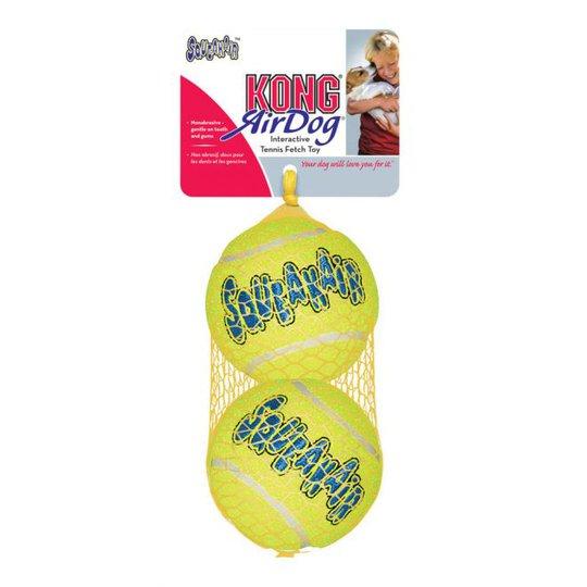 KONG AirDog Squeaker Tennisbollar (S)
