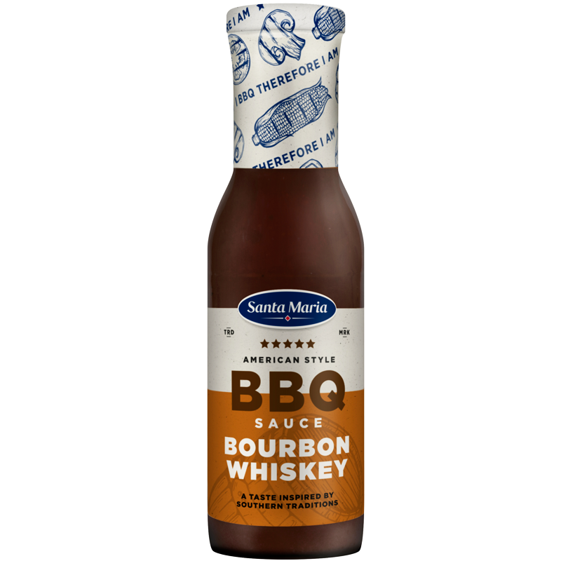 BBQ Sås Bourbon Whiskey - 36% rabatt