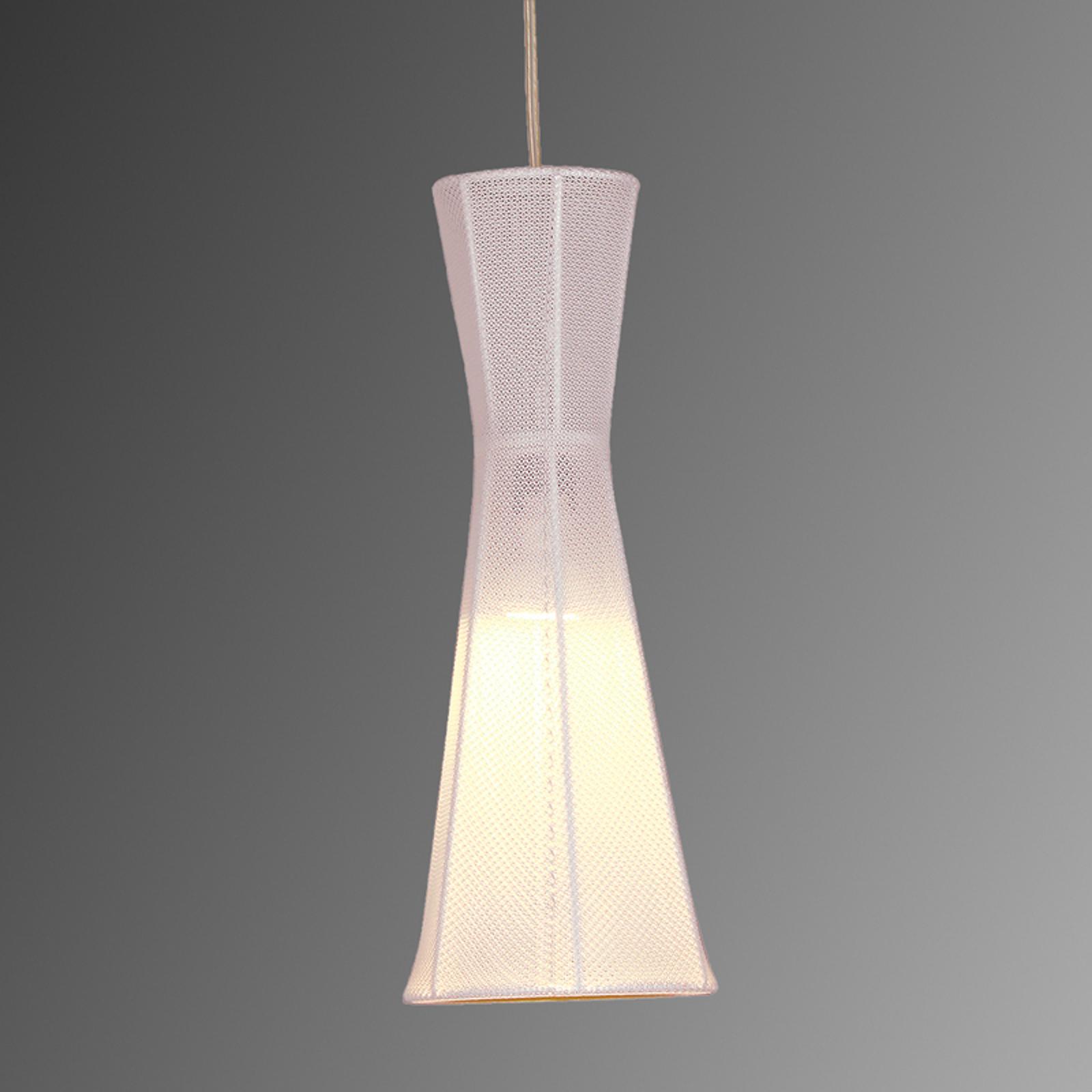 Felice-LED-riippuvalaisin, valkoinen, 40 cm
