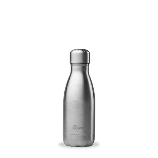 Qwetch Isolerad Flaska Borstat stål